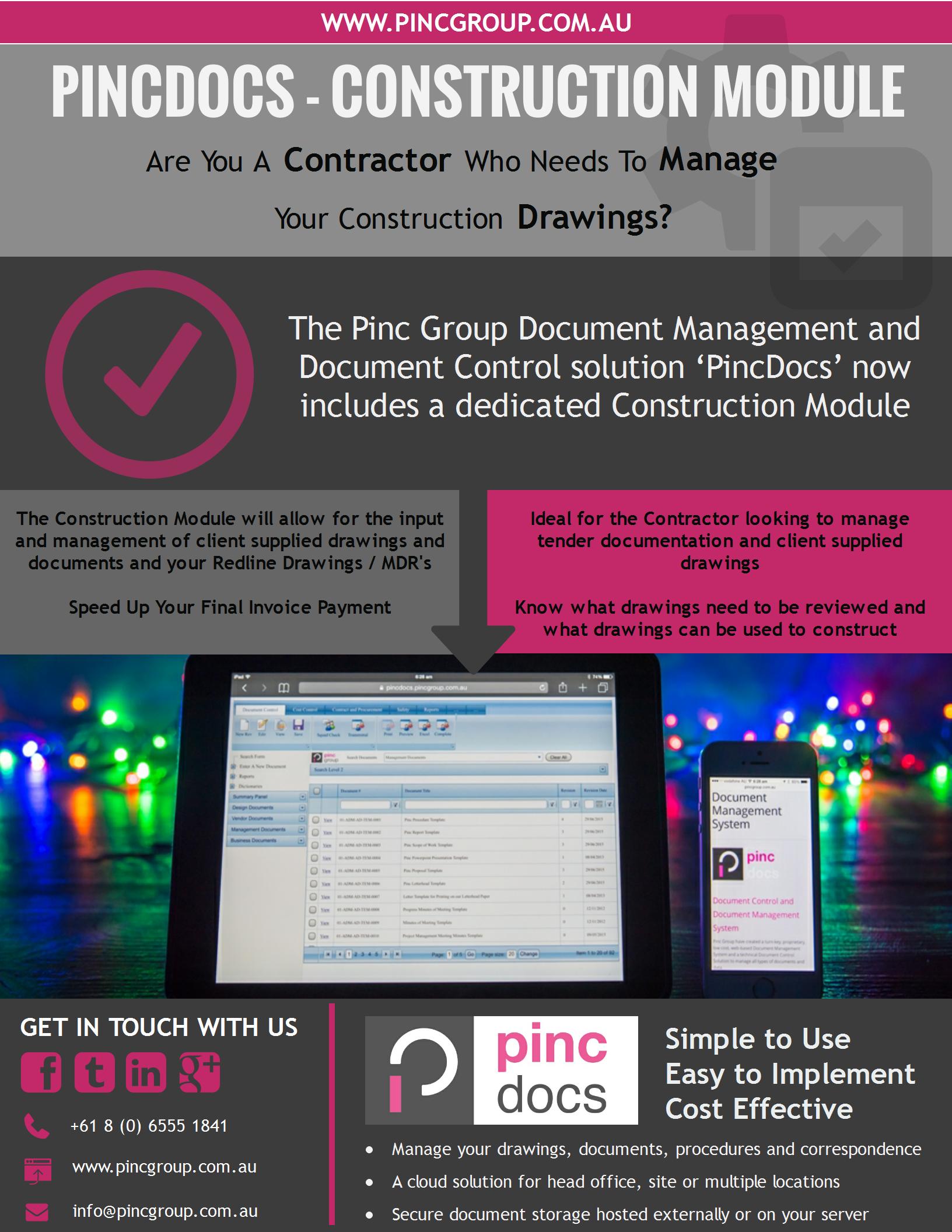 PincDocs_Construction Module